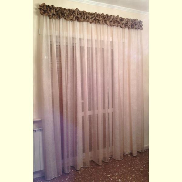 Tende da salotto classiche kinlo pezzi tende trasparenti cm tenda tulle con occhielli tende - Accessori per tende da interno ...