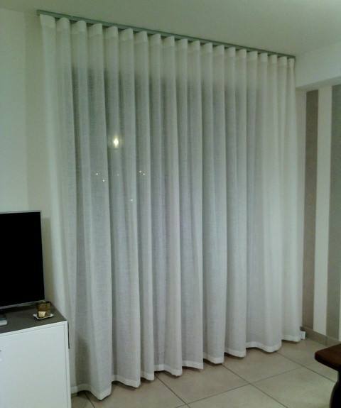 With tende arredamento moderno for Arredamento tende per interni